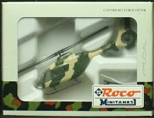 Roco Minitanks HO Scale Eurocopter EC6365 Helicopter- Plastic Model #860