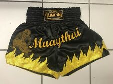 "MuayThai Shorts ""Hanuman""(Legendary Monkey) with Fire Edition Size L 30""-32"""