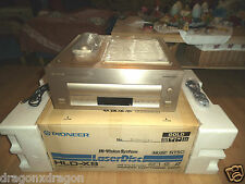 PIONEER hld-x9 Muse Hivision LD player, oro, NTSC, Incl. SCATOLA ORIGINALE/fb/RARE