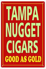 Tampa Nugget Cigars Sign  Natsalgic Cigar Signs