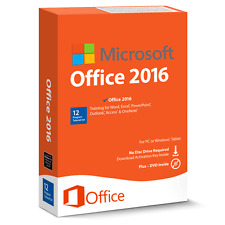 Microsoft Office 2016 Professional Plus [Digital License Download + Product Key]