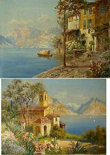 2 x Gottfried ARNEGGER ( g. 1905) Motive aus Italien