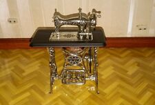 Dolls house miniature working sewing machine.