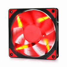 DEEPCOOL TF120 RED - FDB Bearing 120mm RED LED Silent PWM Fan