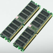 Hynix 2GB 2x 1GB DDR400 Low-Density PC3200 400MHZ NON-ECC 184PIN Desktop memory