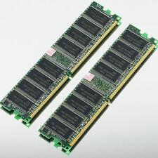 Hynix 2GB 2x 1GB DDR400 Low-Density PC3200 400MHZ NON-ECC 184PIN Desktop memory