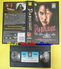 film VHS DIABOLIQUE 1996 sharon stone adjani palminteri bathes*MEDUSA(F59)no dvd
