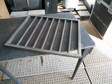 ONE MILITARY SURPLUS MOBILE FIELD KITCHEN TRAILER TENT   GRATE  STAND GRILL ARMY