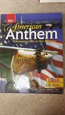 Holt McDougal American Anthem Student Interactive Online Edition