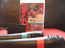 PS3 Classic Singstar 30 Song  + 2 Microphones Bundle *VGC* - Playstation 3 / PS3