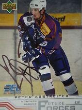 262 Peter Abstreiter München Barons DEL 2001-02 orig. signiert