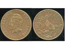 POLYNESIE francaise 100 francs 1982   ( bis )