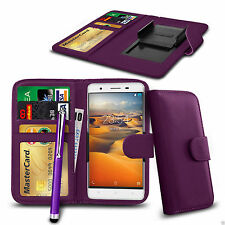 Clip On PU Leather Wallet Case Cover & Pen For Apple iPhone 3GS