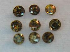 6.56CTW 9 PC STUNNING UNTREATED NATURAL INTENSE TANZANIAN COGNAC ZIRCON PARCEL