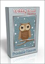 Card-making DVD - Wibbly Wood Christmas, Original design!