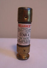 Reliance ECON ECNR-4 250V 4A RK5 Time Delay Dual Element Current Limiting Fuse