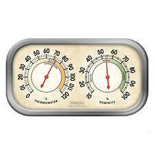 Springfield Precision 90113-1 Hygrometer & Thermometer Tabletop or Wall Mount