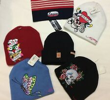 Assorted Ed Hardy Beanies Scull Cap