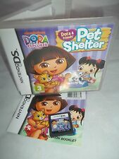 Nintendo ds dsi dsxl dslite console game-dora & friends pet shelter