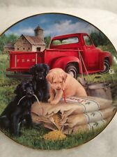 """Franklin Mint Heirloom by Royal Doulton """"Seeds Of Mischief"""