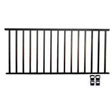 FREEDOM BLACK WINCHESTER 6FT STAIR RAILING TOP /& BOTTOM SET 6/' ITEM #674876