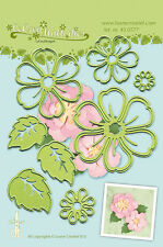Lea'bilities Cutting & Embossing Die - Multi Flower 008 - Blossom  Free UK p&p