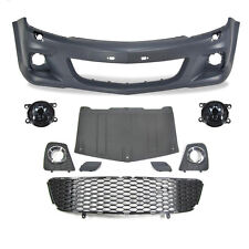 Set Bumper front + Fog Opel Astra H Built 04-   only GTC 3 Door OPC Looks