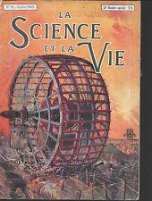 LA SCIENCE ET LA VIE n° 39/Juin - juillet 1918/22ème n° spécial