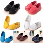 Baby Boys Girls Kid Peas Leather Shoes Casual Breathable Soft Children Loafer