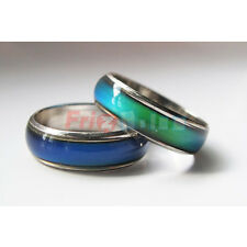 1 MOOD RING - L'ANELLO CHE CAMBIA COLORE IN BASE ALL'UMORE - MISURE VARIE