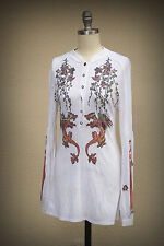 Butterfly Dropout Tunic Size M Junior Dragons Maiden Knight Ladybug Leaves
