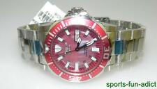 NIB INVICTA Automatic Diver's MOP Face SS Day Date Wristwatch 2939 $300