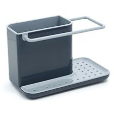 Joseph Caddy Kitchen Sink Area Organiser - Grey, Home Space Storage Tidy Gift
