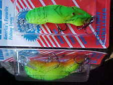 "Rebel 2"" F7634 1/5oz Lite Wee-Crawfish Lure for Bass/Panfish/Trout/Pickerel"
