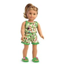 2016 AMERICAN GIRL DOLL  LEA CLARK  RAINFOREST PYJAMAS (no Doll)BNIB .