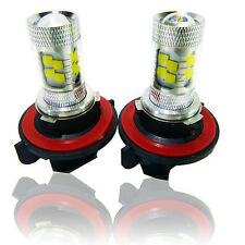 2x 100W Stage3 Bright White H13 CREE LED Daytime Light Lamp bulb HeadLight DRL
