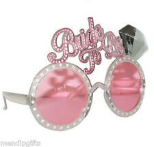 'BRIDE TO BE' GLASSES HEN NIGHT PARTY ACCESSORIES, NOVELTIES & FAVOURS
