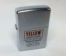 Zippo M.I.B. 1974 Men's Yellow Freight Million Miler (I90)