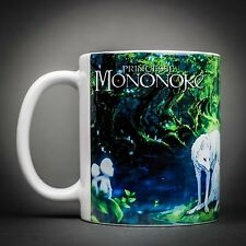 Studio Ghibli - Mug Tasse Cafe - 325 Ml - Princesse Mononoké Anime Film.