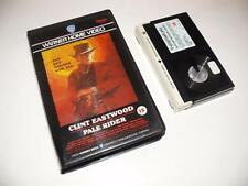 Betamax Video ~ Pale Rider ~ Clint Eastwood ~ Pre-Cert ~ Warner Home Video