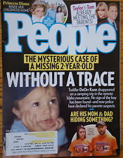 People Magazine July 11 2016 Mysterious Case of Missing 2yr Old-Princess Diana
