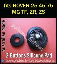 fits MG ROVER  TF ZR ZS  25 45 75 Remote Key Fob  - 2 BUTTONS Repair key Pad