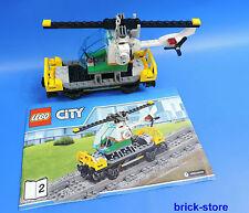 LEGO® City / Eisenbahn 60098 Tieflader - Waggon mit Helicopter
