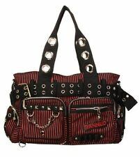 ALTERNATIVE HANDCUFF GOTHIC HANDBAG PUNK BIKER PSYCHOBILLY EMO GOTH ROCKER BAG