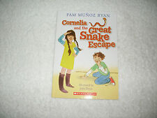 Kids cool paperback gr 2-5:Cornelia & The Great Snake Escape-pet snake gets out!