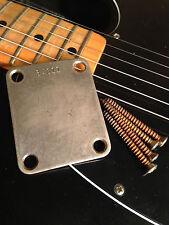 1959 Fender Telecaster/Stratocaster Neck Plate, serial number.