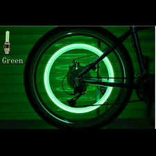 2 x LED Lamp Flash Tyre Wheel Valve Cap Light For Car Bike Bicycle Motorcycle