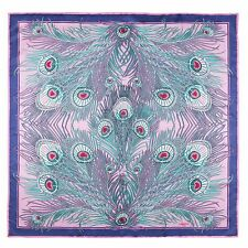 Liberty of London Pink Hera Printed Silk Scarf Made In Italy BNWT RRP £195