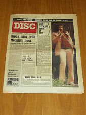 DISC AND MUSIC ECHO FEBRUARY 12 1972 WINGS ROD STEWART MOUNTAIN MEN