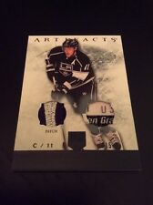 2012-13 Upper Deck Artifacts Jersey Patch Tag Black Anze Kopitar Kings! #4/5